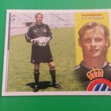 Figurine di Calcio: ESTE 2002 2003 SIN PEGAR BAJA MANNINGER. Lote 217420102
