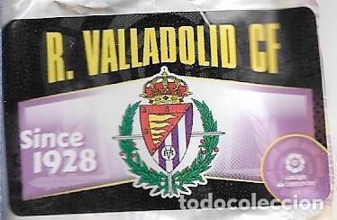 CROMO CHICLE LIGA 2020-21 R.VALLADOLID C.F. (Coleccionismo Deportivo - Álbumes y Cromos de Deportes - Cromos de Fútbol)