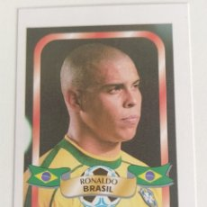 Cromos de Fútbol: RONALDO BRASIL 2002 RARO REYAUCA. Lote 217462981