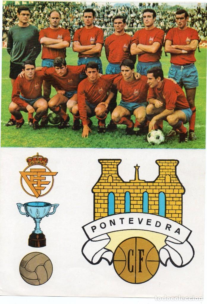 PONTEVEDRA, AÑOS 60, DE BERGAS INDUSTRIAS GRAFICAS (Coleccionismo Deportivo - Álbumes y Cromos de Deportes - Cromos de Fútbol)