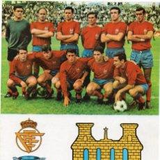 Cromos de Fútbol: PONTEVEDRA, AÑOS 60, DE BERGAS INDUSTRIAS GRAFICAS. Lote 217466961
