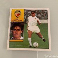 Cromos de Fútbol: NANDO VALENCIA LIGA ESTE 1992 93.. Lote 217512680