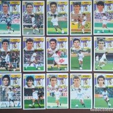 Cromos de Fútbol: **EDICIONES ESTE 1990/91 LOTE DE 15 CROMOS (R.MADRID)SIN PEGAR Y SIN REPETIR. Lote 217625465