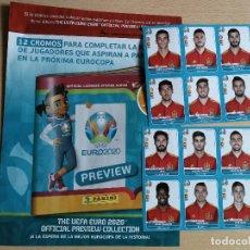 Cromos de Fútbol: EDICIÓN LIMITADA ADRENALYN 18/19+ MERCADO DE INVIERNO Y HOJAS+ 12 CROMOS ESPAÑA 2020 JUGÓN. Lote 217626742