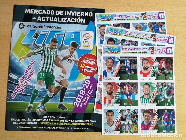 Cromos de Fútbol: Edición Limitada Adrenalyn 18/19+ mercado de invierno y hojas+ 12 cromos España 2020 jugón - Foto 2 - 217626742