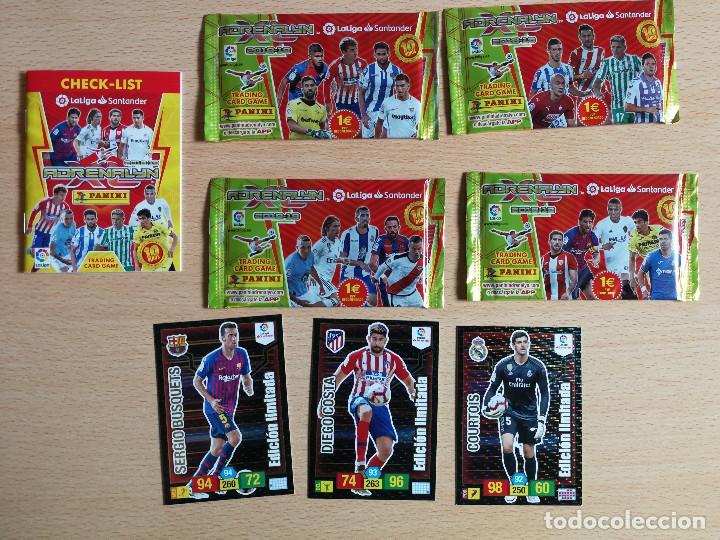 Cromos de Fútbol: Edición Limitada Adrenalyn 18/19+ mercado de invierno y hojas+ 12 cromos España 2020 jugón - Foto 3 - 217626742