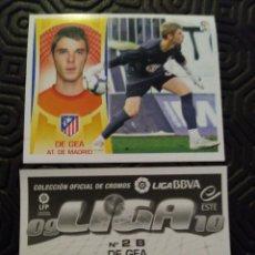 Cromos de Fútbol: ED.ESTE 09/10 DE GEA COLOCA ROOKIE. Lote 217637980