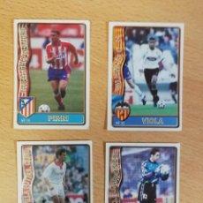Cromos de Fútbol: 4 BAJAS FICHAS DE LA LIGA 96/97 PIRRI, VIOLA, AIZCORRETA Y PINEDA. BUEN ESTADO. Lote 217643688
