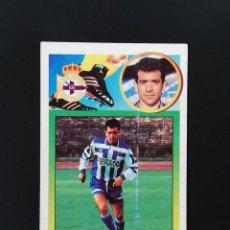 Figurine di Calcio: DEP CLAUDIO DEPORTIVO DE LA CORUÑA 1993 1994 ESTE 93 94 CROMO CARTON SIN PEGAR NUNCA PEGADO. Lote 216640977