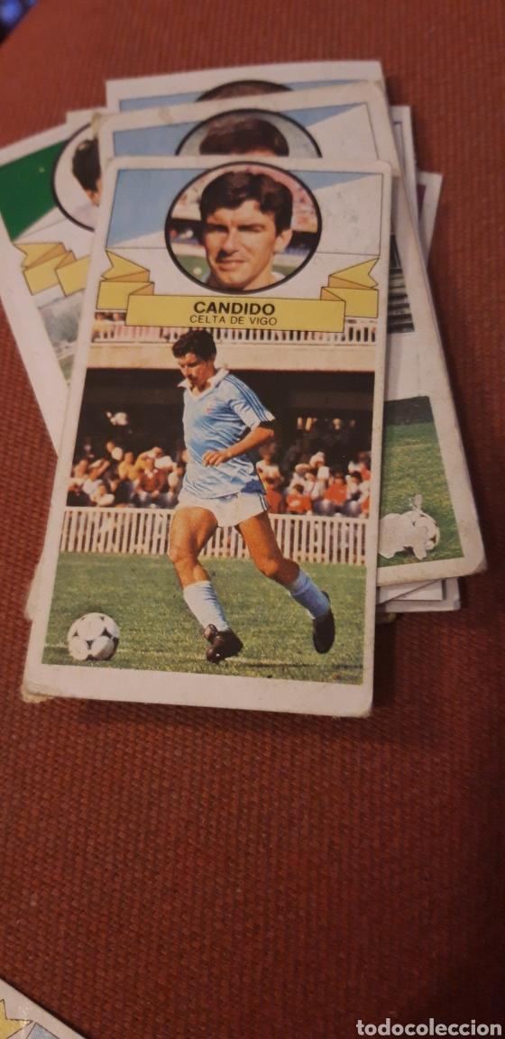 CANDIDO CELTA ESTE 85 86 1985 1986 DESPEGADO (Coleccionismo Deportivo - Álbumes y Cromos de Deportes - Cromos de Fútbol)