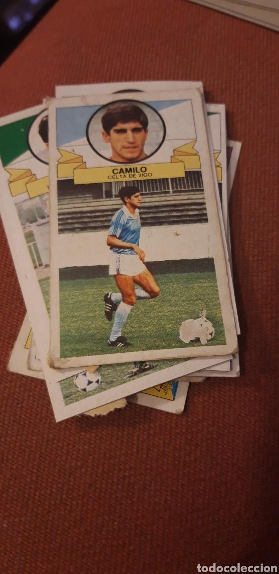 CAMILO CELTA ESTE 85 86 1985 1986 DESPEGADO (Coleccionismo Deportivo - Álbumes y Cromos de Deportes - Cromos de Fútbol)