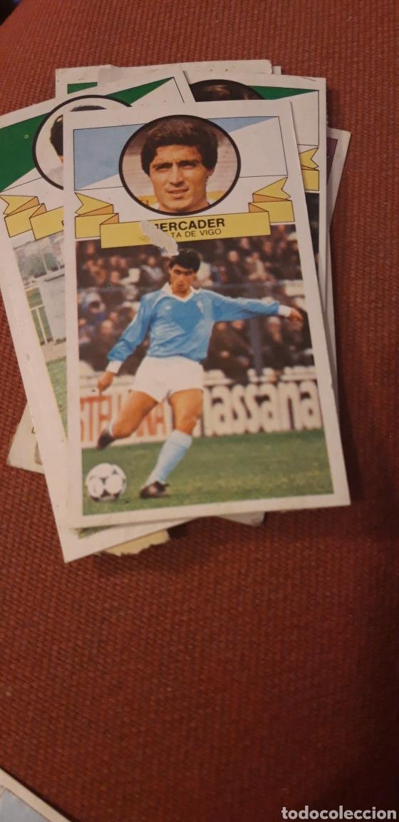 MERCADER CELTA ESTE 85 86 1985 1986 DESPEGADO (Coleccionismo Deportivo - Álbumes y Cromos de Deportes - Cromos de Fútbol)