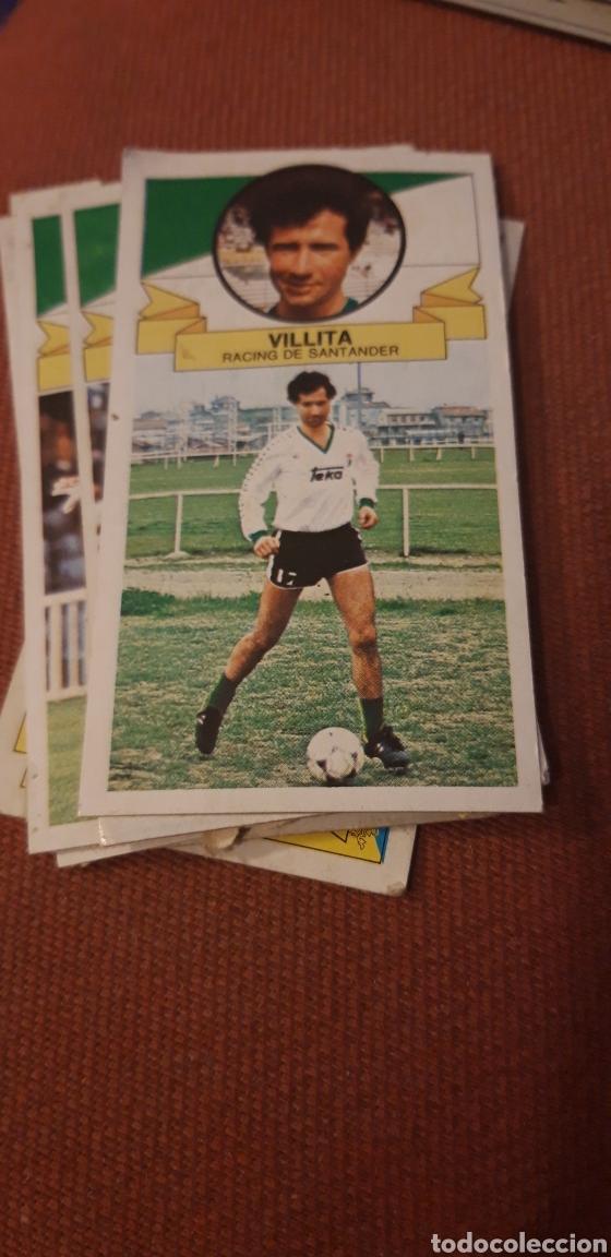 VILLITA RACING DE SANTANDER ESTE 85 86 1985 1986 DESPEGADO (Coleccionismo Deportivo - Álbumes y Cromos de Deportes - Cromos de Fútbol)