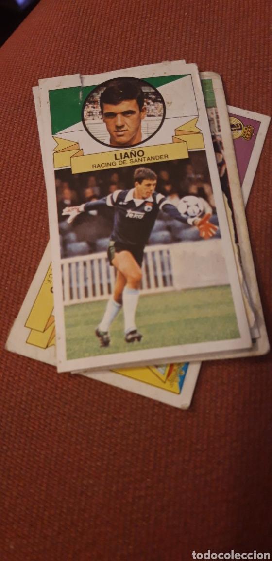 LIAÑO RACING DE SANTANDER ESTE 85 86 1985 1986 DESPEGADO (Coleccionismo Deportivo - Álbumes y Cromos de Deportes - Cromos de Fútbol)
