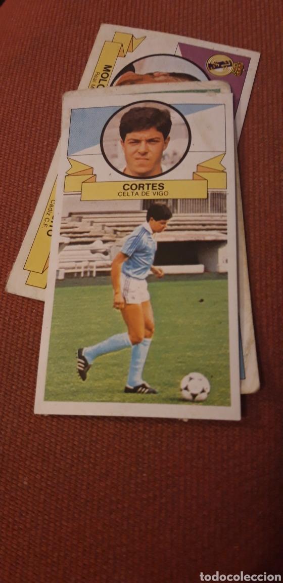 CORTES CELTA ESTE 85 86 1985 1986 DESPEGADO (Coleccionismo Deportivo - Álbumes y Cromos de Deportes - Cromos de Fútbol)