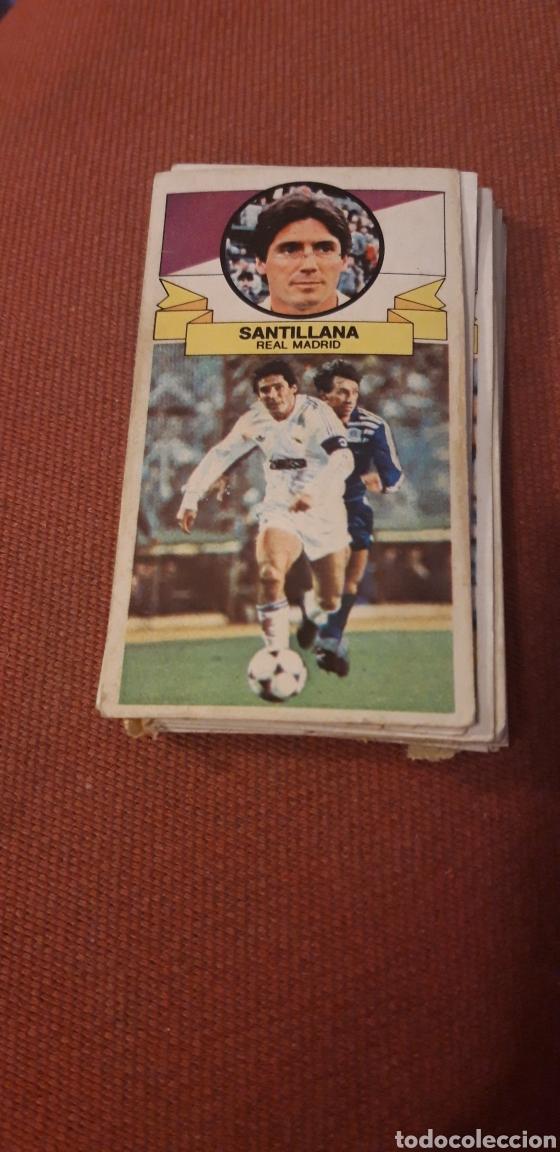 SANTILLANA REAL MADRID ESTE 85 86 1985 1986 DESPEGADO (Coleccionismo Deportivo - Álbumes y Cromos de Deportes - Cromos de Fútbol)