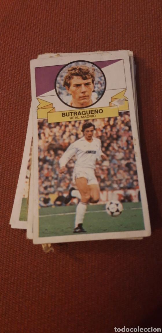 BUTRAGUEÑO REAL MADRID ESTE 85 86 1985 1986 DESPEGADO (Coleccionismo Deportivo - Álbumes y Cromos de Deportes - Cromos de Fútbol)