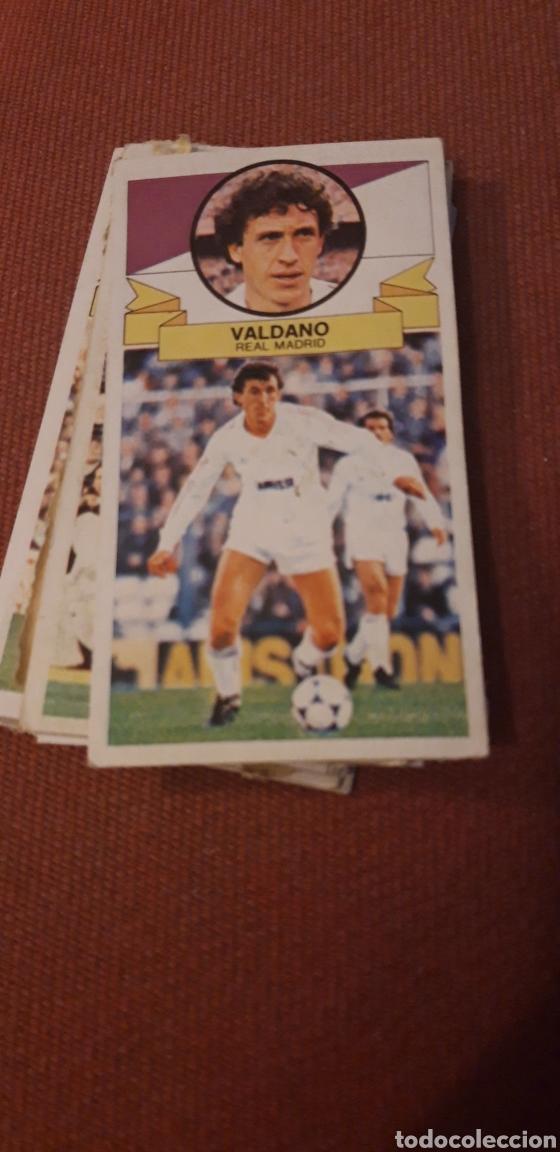 VALDANO REAL MADRID ESTE 85 86 1985 1986 DESPEGADO (Coleccionismo Deportivo - Álbumes y Cromos de Deportes - Cromos de Fútbol)