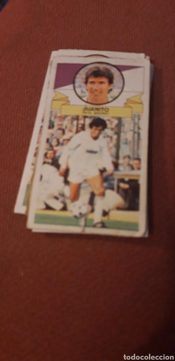 JUANITO REAL MADRID ESTE 85 86 1985 1986 DESPEGADO (Coleccionismo Deportivo - Álbumes y Cromos de Deportes - Cromos de Fútbol)
