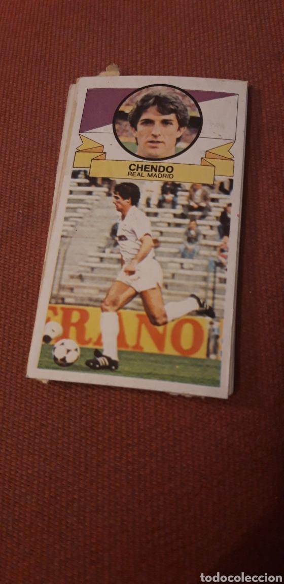 CHENDO REAL MADRID ESTE 85 86 1985 1986 DESPEGADO (Coleccionismo Deportivo - Álbumes y Cromos de Deportes - Cromos de Fútbol)