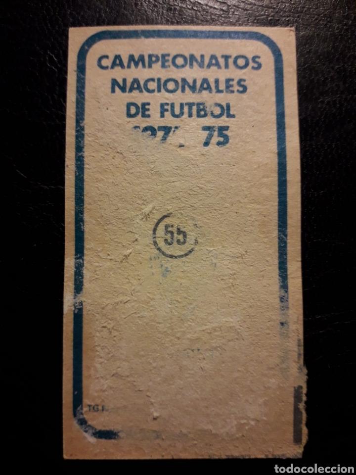 Cromos de Fútbol: ROYO ZARAGOZA N° 40 RUIZ ROMERO 74 75 1974 1975. DESPEGADO. VER FOTOS DE FRONTAL Y TRASERA - Foto 2 - 217959640