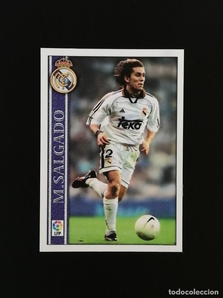 #095 95 MICHEL SALGADO REAL MADRID 2001 LAS FICHAS DE LA LIGA MUNDICROMO 01 (Coleccionismo Deportivo - Álbumes y Cromos de Deportes - Cromos de Fútbol)