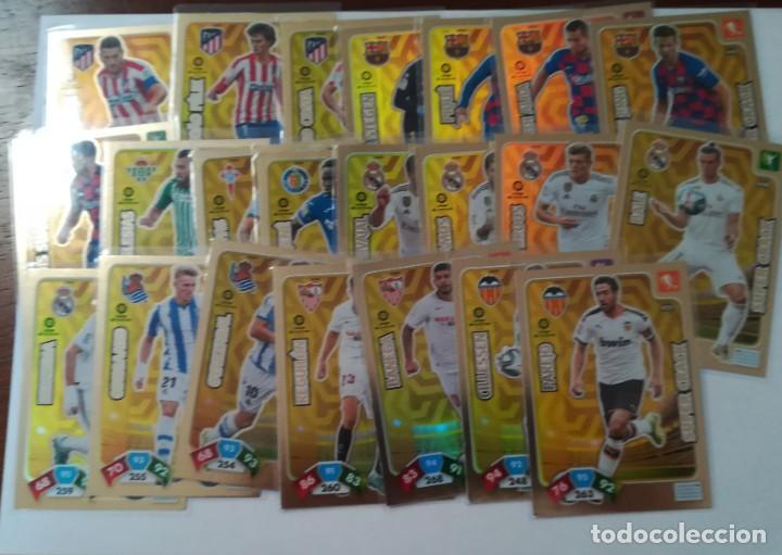 ADRENALYN 2019 /2020 SUPER CRACK ( 23 CARDS DIFERENTES ) - SIN ACTIVAR - - (Coleccionismo Deportivo - Álbumes y Cromos de Deportes - Cromos de Fútbol)