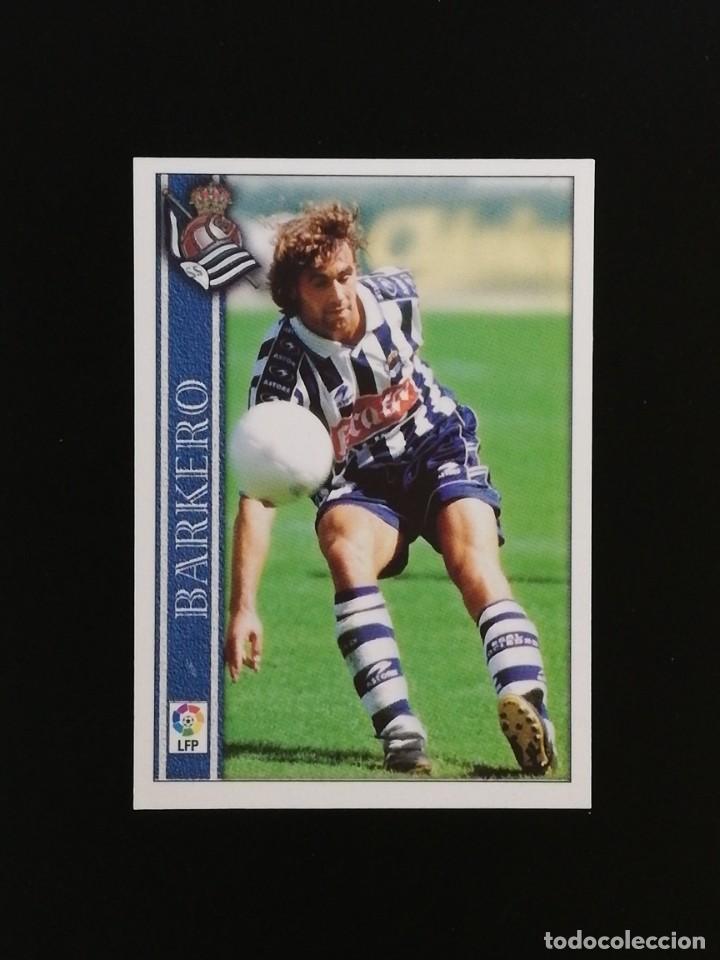 #269 269 BARKERO REAL SOCIEDAD 2001 LAS FICHAS DE LA LIGA MUNDICROMO 01 (Coleccionismo Deportivo - Álbumes y Cromos de Deportes - Cromos de Fútbol)