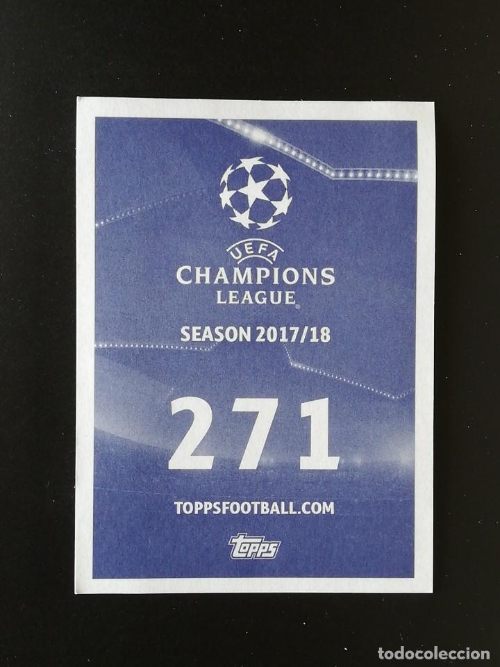 Cromos de Fútbol: #271 271 LUIZ ADRIANO SPARTAK MOSKVA TOPPS 2017 2018 17 18 UEFA CHAMPIONS LEAGUE - Foto 2 - 217961885