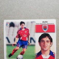 Cromos de Fútbol: ALEX NUMANCIA ( DIFÍCIL ) BAJA LIGA ESTE 1999-2000 / 99-00. Lote 217970096