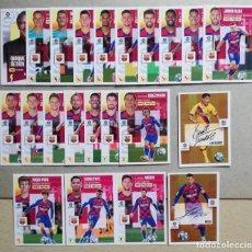 Cromos de Fútbol: BARCELONA COMPLETO (ANSU FATI, MESSI...)1°EDICIÓN + MESSI Y SUÁREZ SERIE10 LIGA ESTE 2020-2021/20-21. Lote 218030111