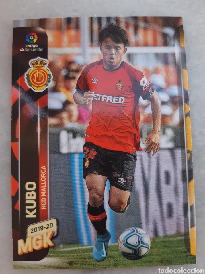 ROOKIE CARD KUBO (MALLORCA) LIGA 19-20 MEGACRACKS PANINI. NUEVO (Coleccionismo Deportivo - Álbumes y Cromos de Deportes - Cromos de Fútbol)