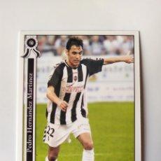 Cromos de Fútbol: MUNDICROMO LAS FICHAS DE LA LIGA 2006 PEDRO HERNÁNDEZ N° 1032 CASTELLÓN. Lote 218215920