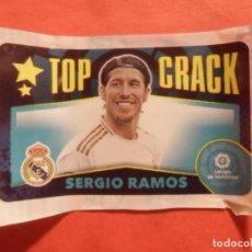 Cromos de Fútbol: CHICLE ESTE 2020 2021 - SERGIO RAMOS - TOP CRACK - REAL MADRID - 20 21 - PANINI. Lote 218215981