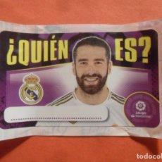 Cromos de Fútbol: CHICLE ESTE 2020 2021 - - ¿QUIEN ES? - REAL MADRID - 20 21 - PANINI. Lote 218216012