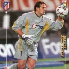 Cromos de Fútbol: ESTEBAN (ATLÉTICO DE MADRID) - Nº 39 - MEGAFICHAS 2003/2004 - PANINI.. Lote 218216042