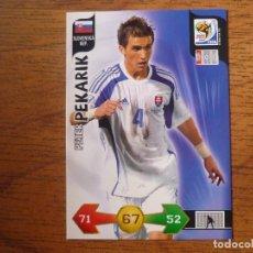 Cromos de Fútbol: 2010 FIFA WORLD CUP SOUTH AFRICA PANINI ADRENALYN XL Nº 302 PEKARIK (ESLOVAQUIA) - 10. Lote 218216055