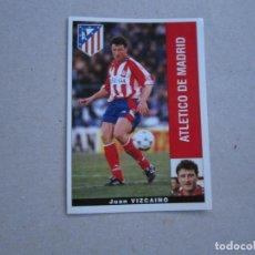 Cromos de Fútbol: PANINI LIGA 95 96 VIZCAINO ATLETICO MADRID 1995 1996 NUEVO. Lote 245109660