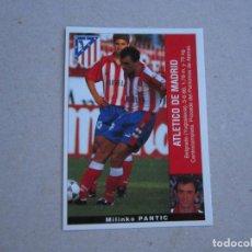Cromos de Fútbol: PANINI LIGA 95 96 COLOCA PANTIC ATLETICO MADRID 1995 1996 NUEVO. Lote 245109815