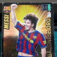 Cromos de Fútbol: 21 MESSI BARCELONA 09 10 ADRENALYN XL LIGA BBVA 2009 2010 BALÓN DE ORO PANINI. Lote 218298146