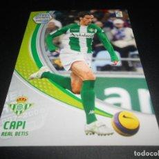 Cromos de Fútbol: 85 CAPI BETIS CROMOS ALBUM LIGA FUTBOL MEGACRACKS 2007 2008 07 08 PANINI. Lote 218324721