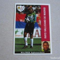 Cromos de Fútbol: PANINI LIGA 95 96 WILFRED RAYO VALLECANO 1995 1996 NUEVO. Lote 218324733