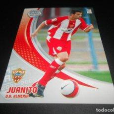 Cromos de Fútbol: 6 BIS NUEVA FICHA JUANITO ALMERIA CROMOS ALBUM LIGA FUTBOL MEGACRACKS 2007 2008 07 08 PANINI. Lote 218324911
