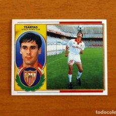 Cromos de Fútbol: SEVILLA - TSARTAS - EDICIONES ESTE 1996-1997, 96-97 - NUNCA PEGADO. Lote 218363156