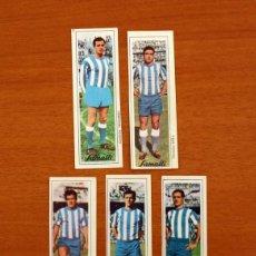 Cromos de Fútbol: CÓRDOBA-5 CROMOS-JARA, JUANIN, MARTI, NAVARRO, RIERA-CHOCOLATES-CHOCOLATE SAMALLI 1966-NUNCA PEGADOS. Lote 218398583