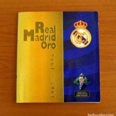 Cromos de Fútbol: ÁLBUM REAL MADRID ORO 1902-1996 - MAGIC BOX INTERNACIONAL 1996 - LE FALTA 2 CROMOS. Lote 218416938