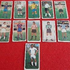 Cromos de Fútbol: LOTE 11 CROMOS FUTBOL LIGA 1977 1978 77 78 ESTE NUNCA PEGADOS ORIGINAL L11. Lote 218484901