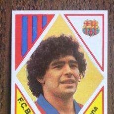 Football Stickers: MAGA FUTBOL PREMIO 1984-1985 MARADONA BARCELONA 84-85 NUNCA PEGADO SIN PEGAR. Lote 218508008