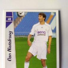 Cromos de Fútbol: MUNDICROMO LAS FICHAS DE LA LIGA 2007 VAN NISTELROOY N° 48 REAL MADRID. Lote 218550576