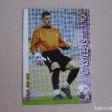 Cromos de Fútbol: PANINI MEGAFICHAS 2002 2003 Nº 146 CASILLAS REAL MADRID MEGACRACKS 02 03. Lote 236652340